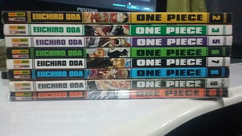 mangás de one piece vários volumes