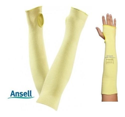 mangas en kevlar proteccion industrial cortes y quemaduras