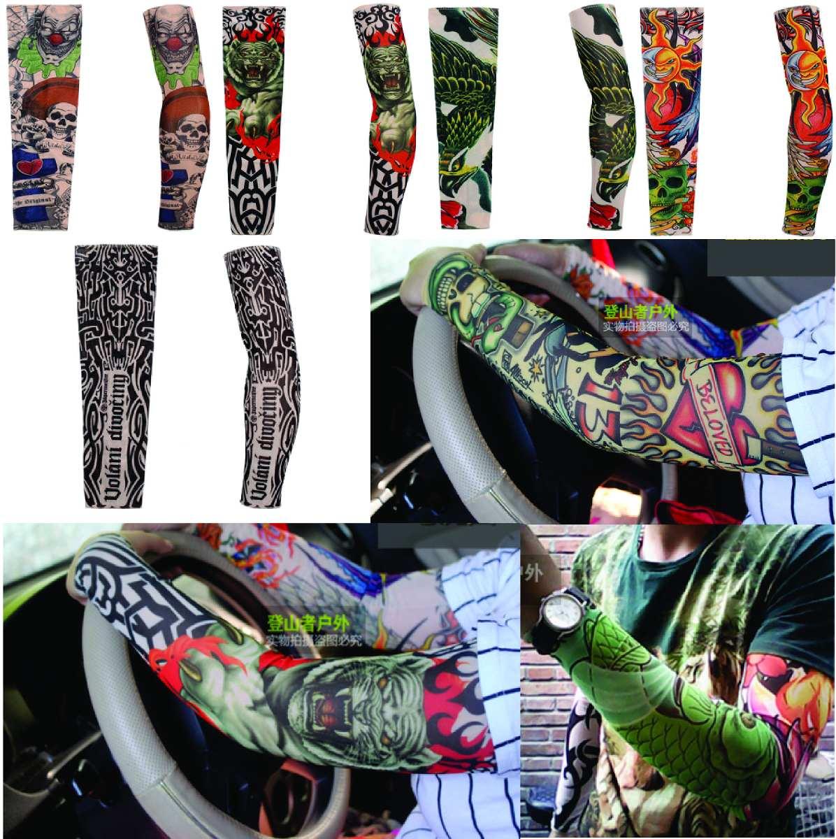 mangas manguitos tattoo proteção braço motoqueiro ciclista. Carregando zoom. a2e12be2b2060