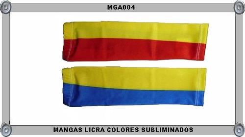 mangas para brazo licra colores subliminados