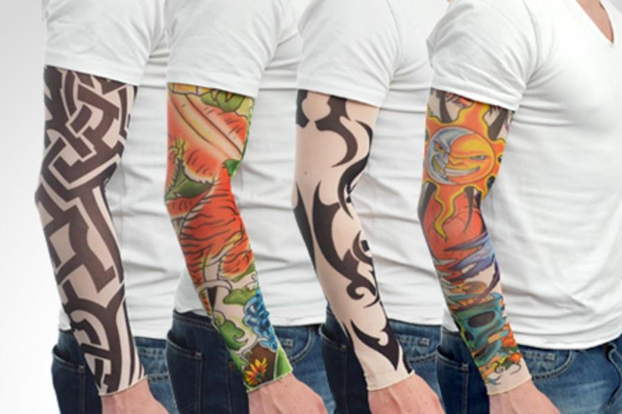 mangas tatuadas para motoqueiros   manguito. Carregando zoom. f1c85fa352b42