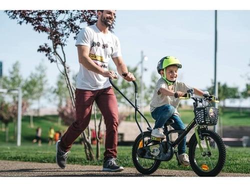 mango de entrenamiento para enseñar a andar en bicicleta