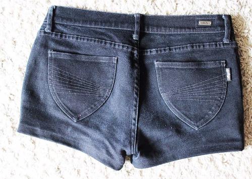 mango short talla 40, jeans negros. envío gratis chilexpress