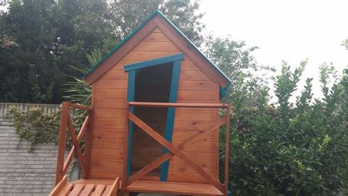 mangrullo, casita infantil y tobogán, edén juegos de madera