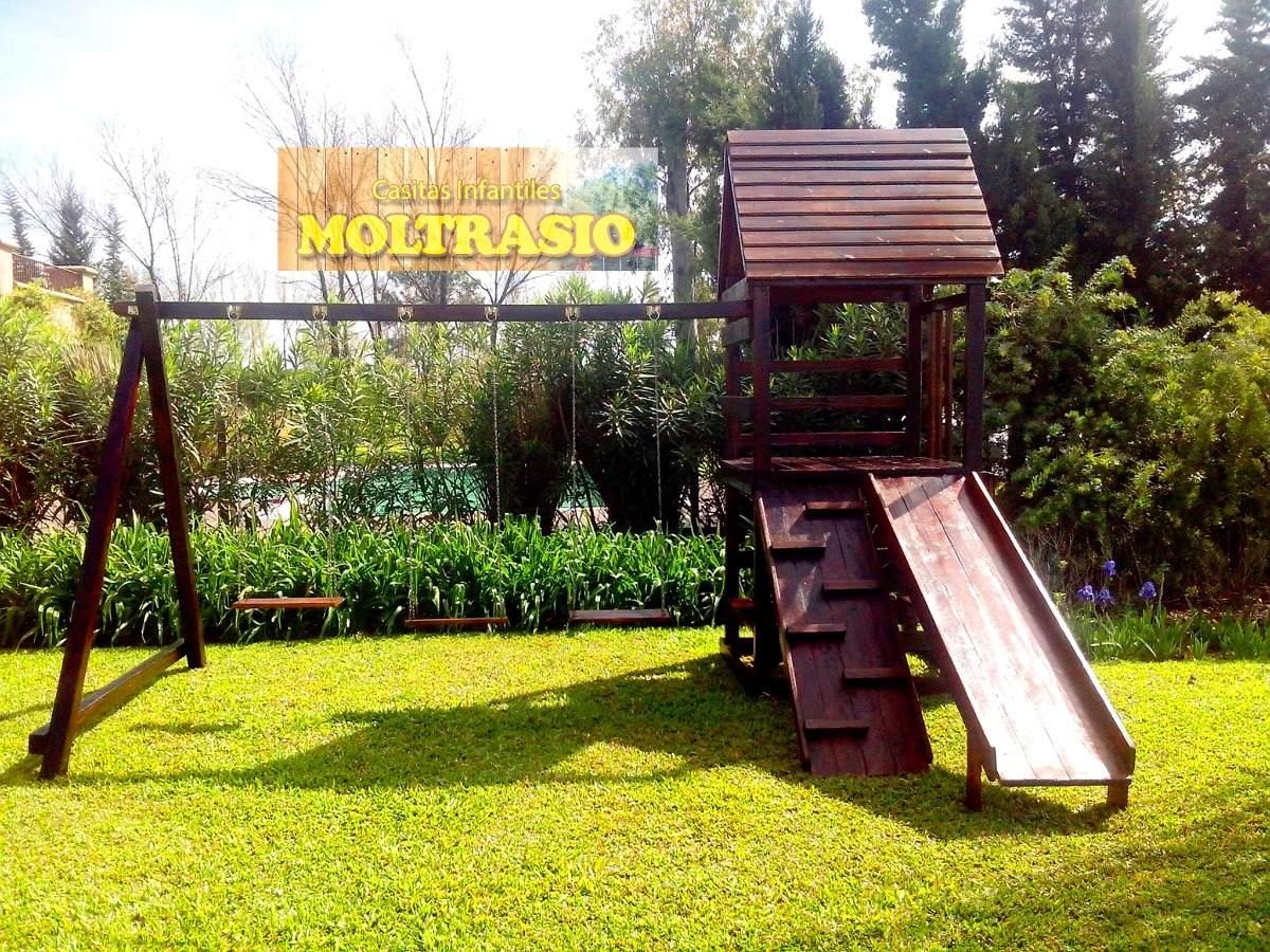 Mangrullo Juego Infantil De Madera Para Exteriores 31 900 00