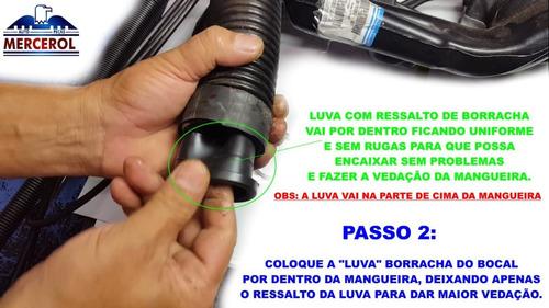 mangueira bocal  gargalo tanque strada geraçao 1/2/ 3