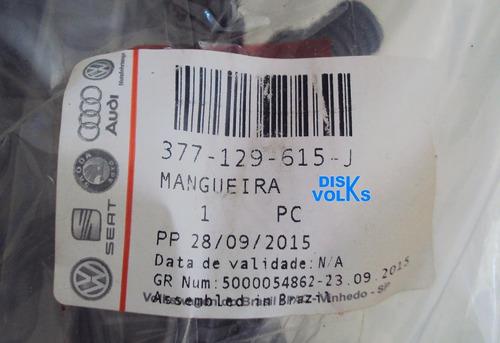 mangueira da turbina gol 1.0 16v turbo 377129615j original