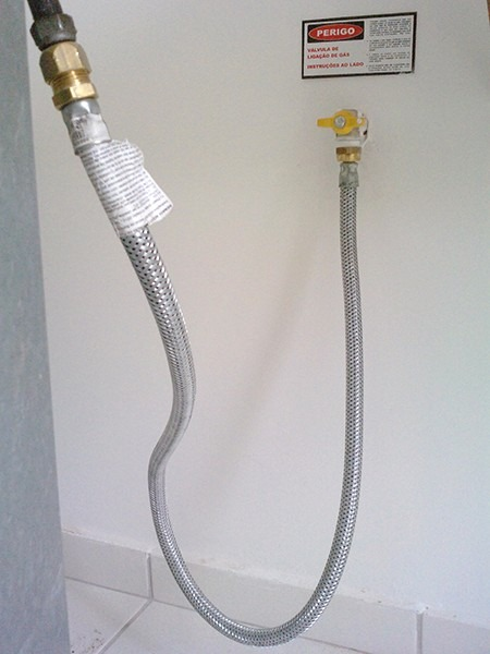 Mangueira de g s flex vel a o 1 metro 1 2 f por dako bico for Espejo de 1 metro por 2 metros