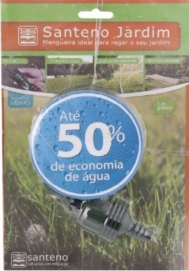 mangueira de irrigação micro perfurada 15mts hortas gramado