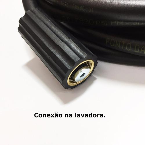 mangueira desentupidora 30mts de tubulaçao - karcher