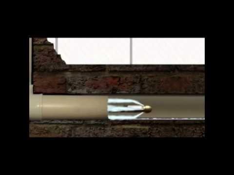 mangueira desentupidora com trama de aço para hlx-150v