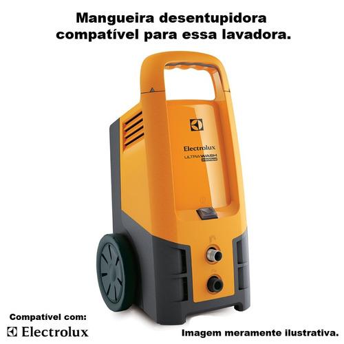 mangueira desentupidora electrolux ultra wash uws10 - 25 mts
