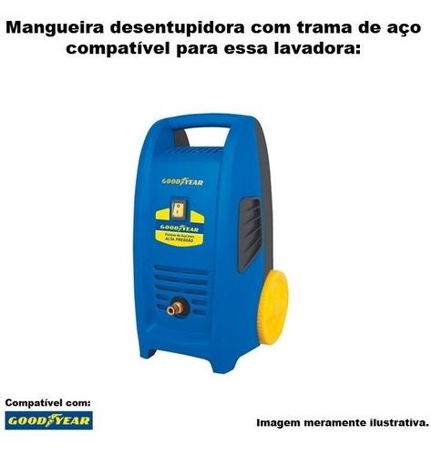 mangueira desentupidora trama aço goodyear gy hp 2100 -20mts