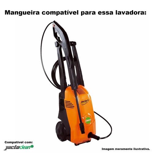 mangueira desentupidora trama de aço jacto 6200 j6200 -30mts