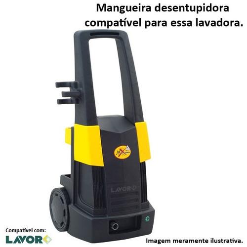 mangueira desentupidora trama de aço lavor best 1740 - 05mts