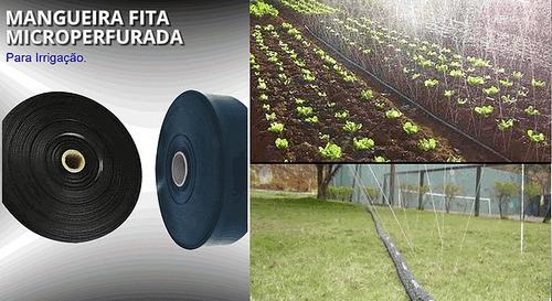 mangueira irrigação microperfurada aspersão 40mm - 10 metro