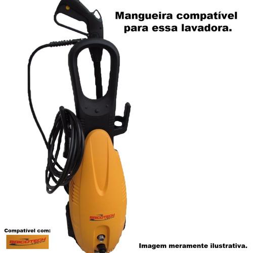mangueira lavadora alta pressão bricotech hp 100c +plus 2,5m