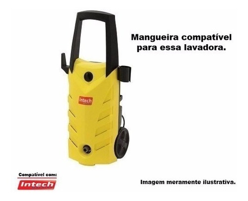 mangueira lavadora alta pressão intech machine hl1500 -05mts