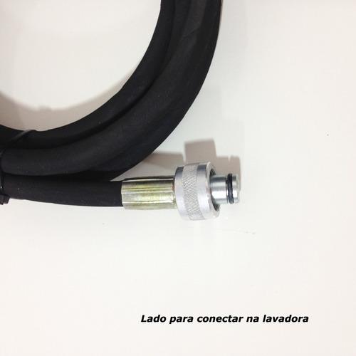 mangueira lavadora alta pressão intech machine hl1650 15 mts