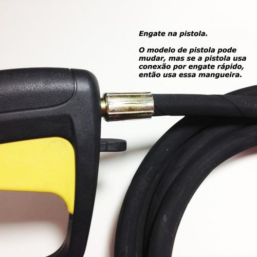 mangueira lavadora black & decker, intech,tekna completa aço