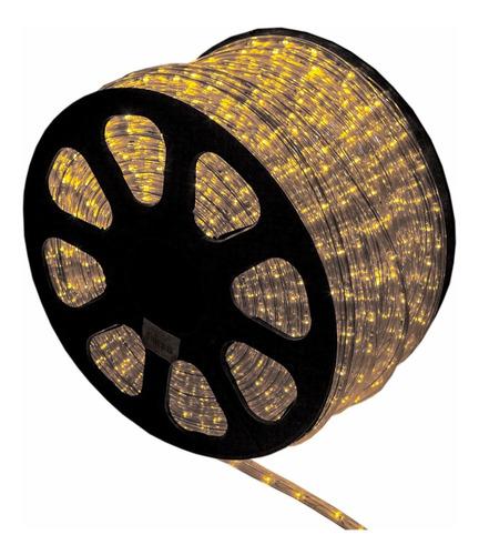 mangueira luminosa led 100 metros 5 conectores 220v full