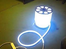 mangueira luminosa led neon, fita de led neon, 120 leds 9w