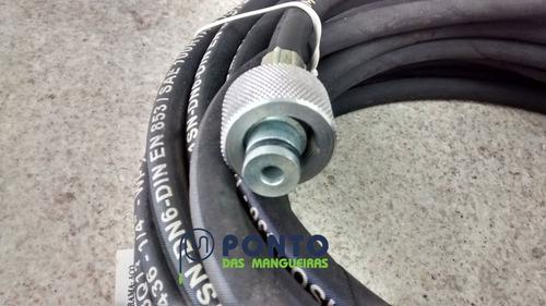 mangueira para lavadora de alta pressão terra acqua 1600 03m