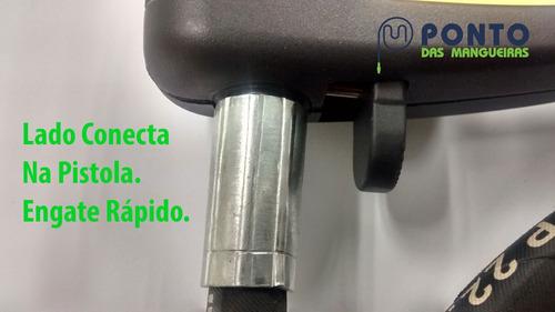 mangueira para lavadora wap de trama de aço com garantia 10m
