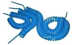 mangueira pu espiral compressor 8mm x 5 mts +02 conectores