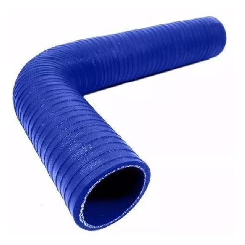 mangueira silicone azul 2 polegadas  em  l