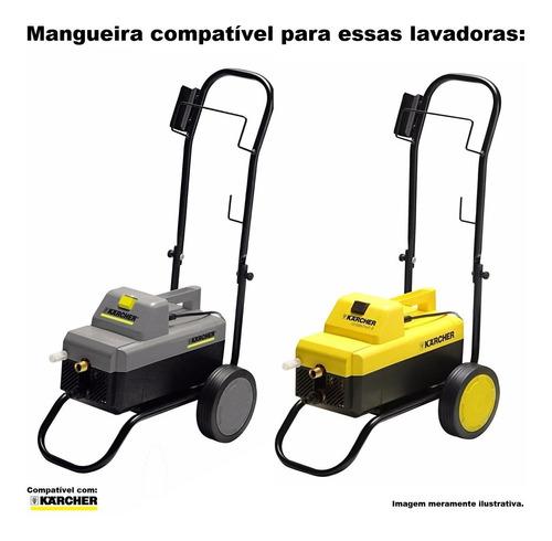 mangueira t. aço lavadora alta pressão karcher hd 585 -20mts