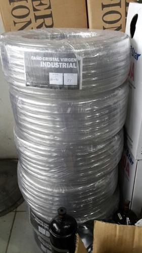 manguera cristal 5/8 desague aire acondicionado 25mt