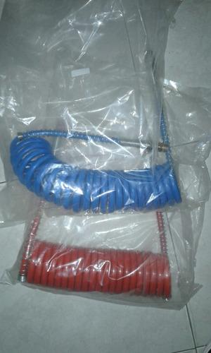 manguera de freno de aire roja y azul batea