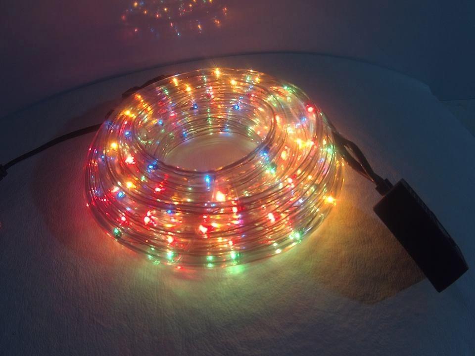 Manguera de luces de colores 8mts navidad varias funciones - Manguera luces navidad ...