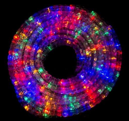 Manguera de luces navide as multicolor led de 10 metros - Manguera luces navidad ...
