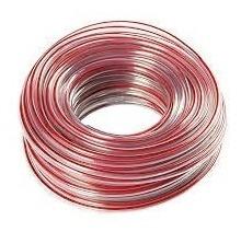manguera de nivel 3/8  pulgada línea roja - rollo 50 metros