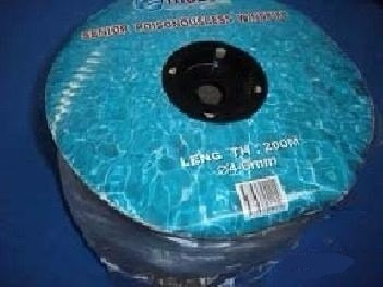 manguera de silicon para aire acuarios, peces rollo 100mts
