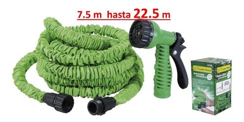 manguera expandible para agua se expande de 7.5 m a 22.5 m