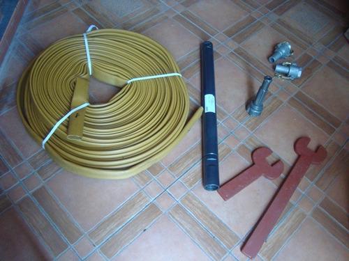 manguera flexible 2 pulgadas 60 metros conexiones rapidas