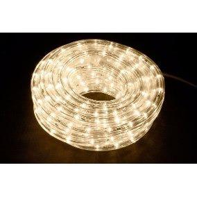 manguera led 10 metros luz cálida (lee las instrucciones)