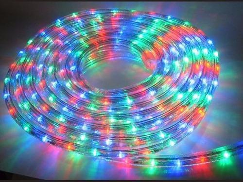manguera led de 8 mts multicolor 8 secuencias