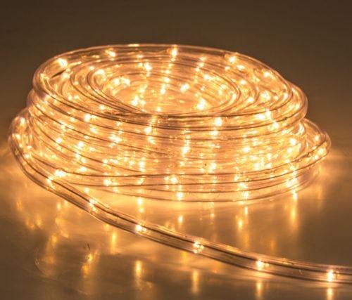 manguera luces led 5 metros calida 220v