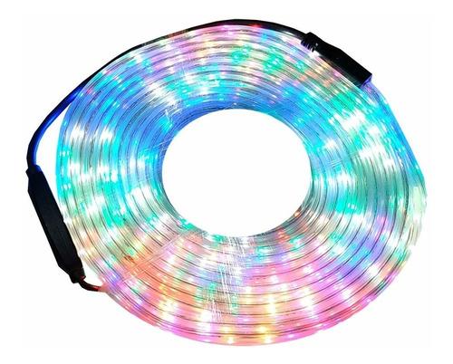manguera  luces led de 2 metros multicolor 220v