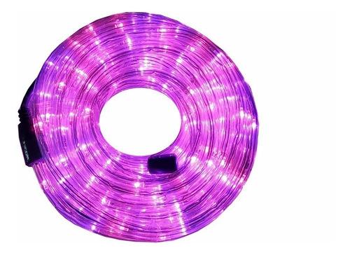 manguera luces led de 5 metros violeta 220v