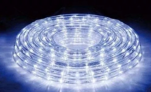 manguera luces led x 5 metros luz fria 220v