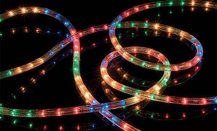 manguera luces multicolor tipo led exterior mts navidad