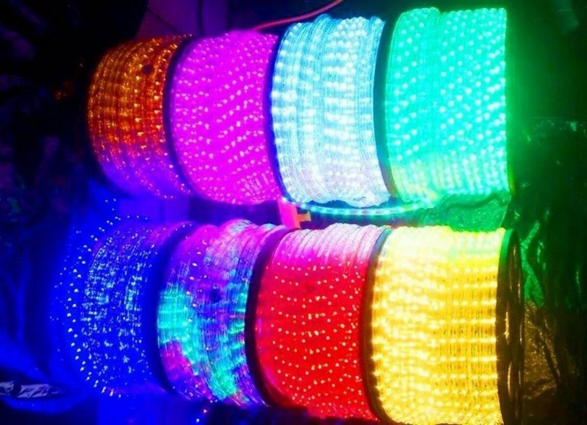 Manguera luz led 100 metros navidad tres v as - Manguera luces navidad ...