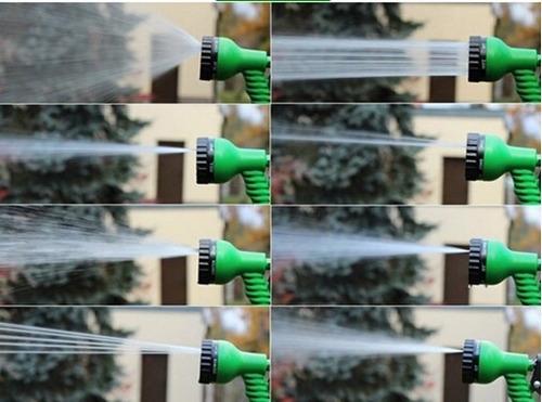 manguera magic hose expandible 15mts + pico regador