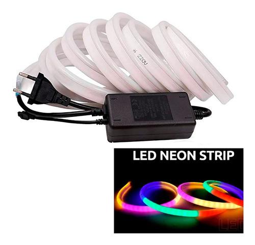 manguera neon led, tira de luces colores 5mts + delivery