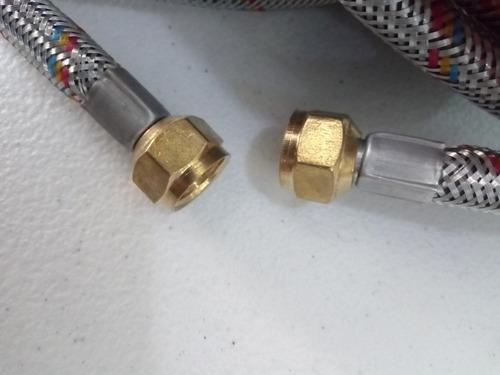 manguera para gas de 10 metros de 3/8x3/8 aluminio